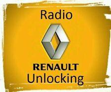 RENAULT Decode Code de Déblocage Autoradio Player CLIO MEGANE SCENIC LAGUNA