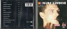 CD 13T MARC  LAVOINE   LIVE  DE  1988 TRES BON ETAT