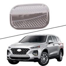 2019-2020 For Hyundai Santa Fe ABS Chrome Fuel Filler tank Gas Cap Cover Trim