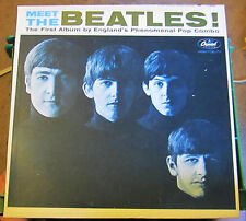 "Original 1964 ""MEET THE BEATLES"" MONO Capital Rainbow Label VG++"