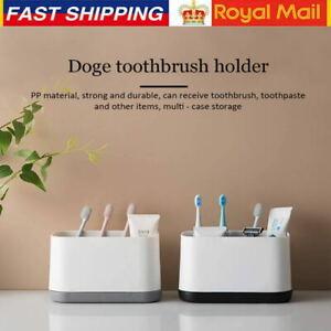 Bathroom Electric Toothbrush Holder Large Caddy Storage Organizer Bath Home Rack