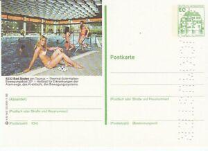 P 130 Bildpostkarte Imprimer Échantillon Bad Soden