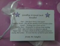 Goodbye Student Pupil Gift From Teacher Personalised *30p ADDITIONAL P&P*