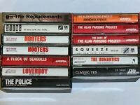 80s Pop Prog New Wave Cassette Lot Flock of Seagulls Alan Parsons Yes The Police