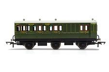 Hornby R40087 OO Gauge SR 6 Wheel Coach Brake 3rd Class 3750 - Era 3