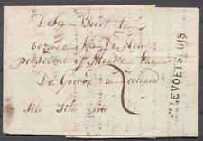 HELLEVOETSLUIS k21 z/n OP BRIEF OUDENHOORN 31 APRIL(!)1815 - GOEREE MET 3X Ab283