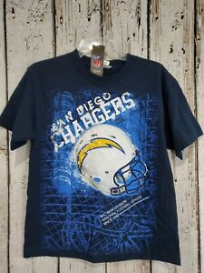 LZ Reebok Youth LargeSan Diego Chargers Short Sleeve Tee Shirt T-Shirt NEW