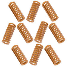 10X 8mm Outer Dia 20mm Light Load Stamping Compression Mould Die Spring Yellow