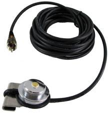 Trunk Lip Antenna Mount NMO Type Mounted Antennas Chrome w/ PL-259 Male