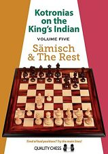 Kotronias on the King's Indian Saemisch and The Rest. Hardcover NEW CHESS BOOK