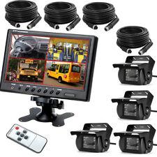 """TFT 9 """" Set Auto Rückfahrkamera 4x4 Pin TFT LCD Monitor Video Car Rückfahrsystem"""