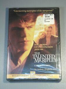 The Talented Mr. Ripley (DVD, 2000) Matt Damon Gwyneth Paltrow Jude Law New