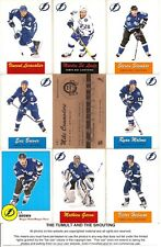 2012-13 OPC O-Pee-Chee Retro Tampa Bay Lightning Master Team Set (17)