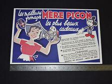 BUVARD 1950 MERE PICON ST-FELIX HAUTE SAVOIE CINEMAGIC WALT DISNEY MICKEY