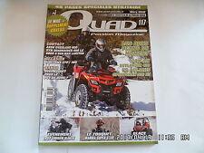 QUAD PASSION MAGAZINE N°117 03/2010 AEON OVERLAND 600 SYM QUADRAIDER 600LE   H40