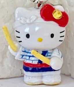 ❤️Sanrio Hello Kitty & Drumsticks 02' Gotochi Netsuke Charm Mascot Phone Strap❤️