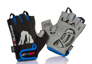 RocRide Evolution Half-Finger Cycling Gloves with Sensory Gel Padded Protection.