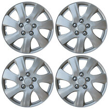 "NEW SET of 4 Hub Caps Fits TOYOTA CAMRY 15"" Universal ABS Silver Wheel Cover Cap"