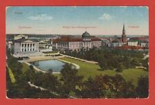 POSEN Theater Ansiedelungskommission Kirche Preußen Haus Häuser Deutsches Reich