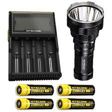 Acebeam K70 Flashlight XHP35 HI LED -2600Lm w/D4 Charger & 4x NL183 Batteries