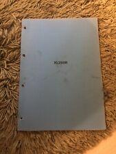 Honda XL250R,(dealer)Pre Delivery Inspection(PDI)Manual,rare genuine Honda Issue