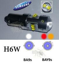 Lampada H6W BA9S BAY9S 6000K LED CREE 40W 800LM DRL CANBUS VW AUDI ALFA ROMEO