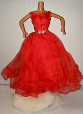 New ListingVintage Barbie Red 1965 Junior Prom Outfit #1614 With White Stole