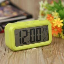 Anself Led digital alarma despertador reloj Repetición negro