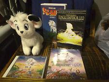 Kimba, Jungle Emperor Leo, White Lion, Plush, Rare, Oop, Dvd, Blu-Ray, Vhs