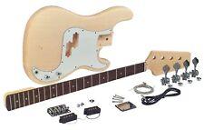 New Saga Pb-10 Electric Bass Guitar Kit Custom Builder Luthier Diy Project