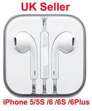 New Earphone for Apple iPhone 6 /6 Plus /5 /5 EarPod Headphone With Mic UK selle