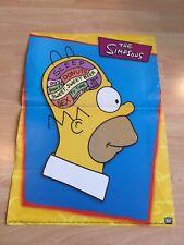 Homer Simpson Brain Poster The Simpsons Inside Homer's Head Scandecor