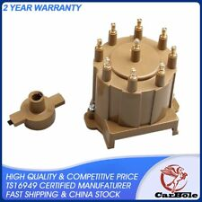 Distributor Cap and Rotor Kit External Coil Male HEI 87-9 Brass Terminal