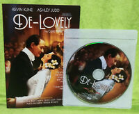 De-Lovely (DVD, 2004) Kevin Kline, Ashley Judd