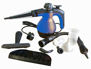 Electric Steam Cleaner Portable Hand Held 1000W Multi Purpose Vacum Ironing