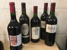 Lot de 5 bouteilles Gaillac millésimes 1991 1997 1998 2010