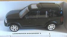 RASTAR LAND ROVER DISCOVERY 3  BLACK 1:43 SCALE DIECAST MODEL CAR TOY 4X4 AUTO