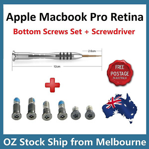 MacBook Pro 13.3 inch with Touch bar A1708 Case Bottom Cover Screws Screwdriver