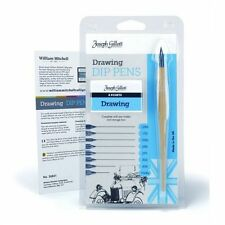 Joseph Gillott Ink Dip Pen 8 Nib Drawing Set