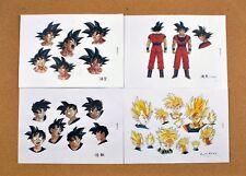 Dragon Ball Z settei sheets