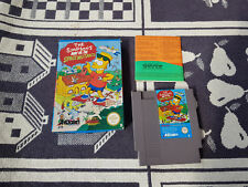 Nintendo Nes Spiel mit OVP The Simpsons - Bart vs. the World