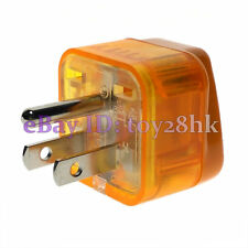 1* US, Canada Nema 5-15P Power Plug Adapter w/ Surge Protector Voltage Indicator