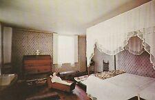 """*Connecticut Postcard-""""Bedroom of Oliver Ellsworth Homestead"""" /Windsor/ (U1-4)"""