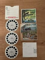 Vintage GAF B363 Disney  The Jungle Book view-master 3 Reels Packet