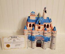 Walt Disney Sleeping Beauty's Castle Cookie Jar 40th Anniversary Limited Edition