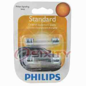 Philips Courtesy Light Bulb for Ford Bronco Country Sedan Country Squire uq