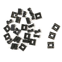30pcs 8 pin IC Sockets DIP IC Sockets Adaptor Solder Type Socket 2.54mm