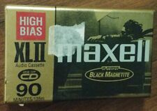 Maxell Xlii 90 Minute High Bias - Ideal for Cd - Cassette Tape - Sealed