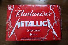 Metallica Budweiser Empty Box / METALLICA PROMOTIONAL VIDEOTRON CENTER