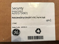 GE Security 420173001 External Industrial Dial-Up Modem with 1A Power Supply